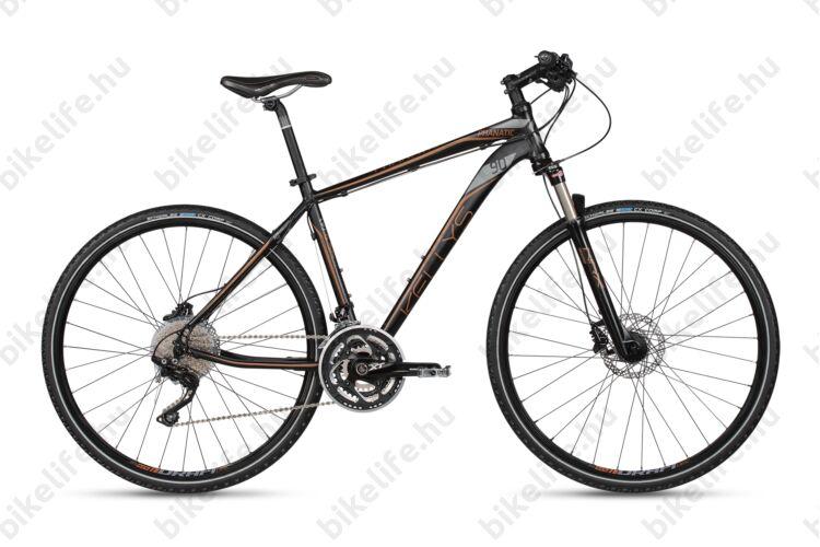 """Kellys Phanatic 90 2017 cross kerékpár 30sebességes XT váltó, Shimano tárcsafék, levegős teleszkóp, 19"""""""