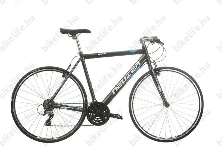 Neuzer Courier fitness kerékpár 21 fokozatú Shimano Acera váltórendszer, antracit/kék 54cm NE1641131024