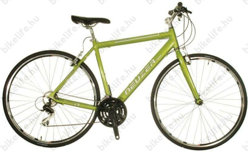 Neuzer Courier fitness kerékpár 21 fokozatú Shimano Acera váltórendszer, világos metálzöld 52cm 111241071054