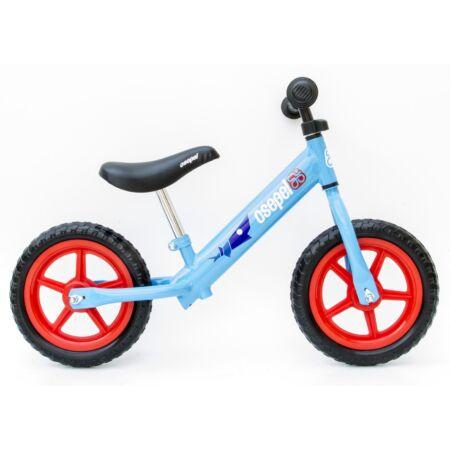 Kerékpár Hajtány Csepel kék, cápás, fémvázas, tömör kerekű
