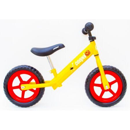 Kerékpár Hajtány Csepel narancs, struccos, fémvázas, tömör kerekű