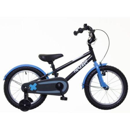 """Neuzer 16""""-os kontrafékes gyerek kerékpár fiú fekete/kék-fehér"""