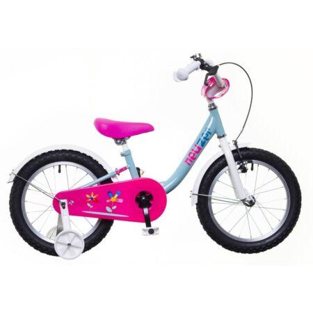 """Neuzer 16""""-os kontrafékes gyerek kerékpár lányka pisztácia/fehér-pink"""