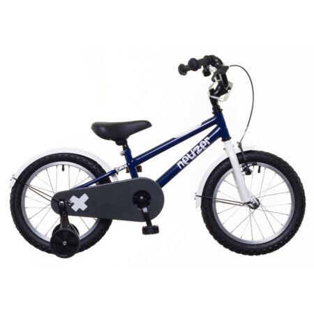 """Neuzer 16""""-os kontrafékes gyerek kerékpár fiú kék/fehér"""