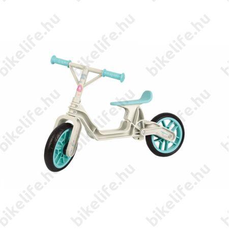 Kerékpár Hajtány Polisport krém/mentazöld, műanyagkerekes