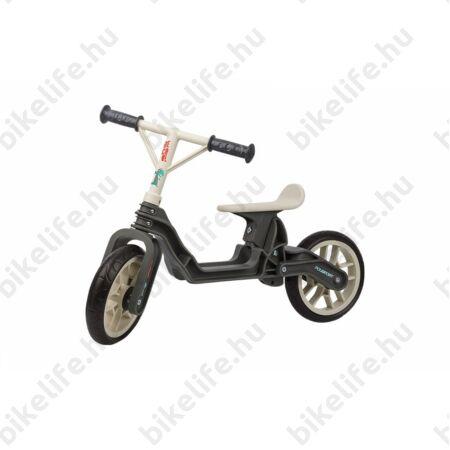 Kerékpár Hajtány Polisport szürke/krém, műanyagkerekes