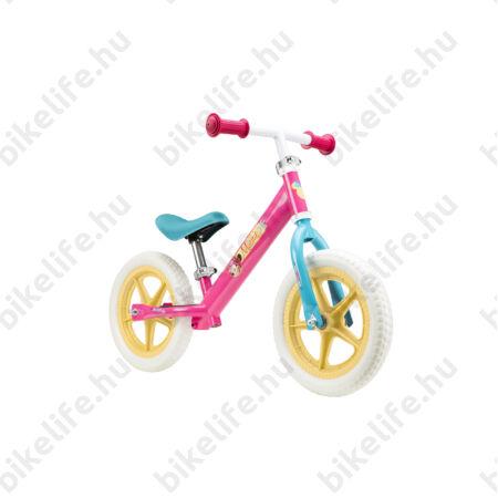 Kerékpár Hajtány Minnie rózsaszín, fémvázas tömör kerekű