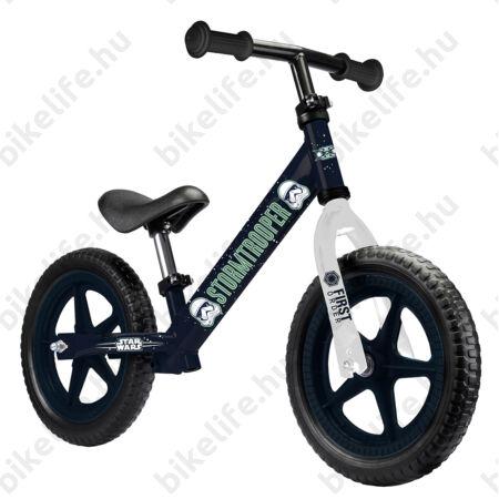 Kerékpár Hajtány StarWars kék, fémvázas tömör kerekű