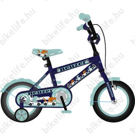 """Neuzer Wildwagon 12""""os gyerek kerékpár fiú királykék"""