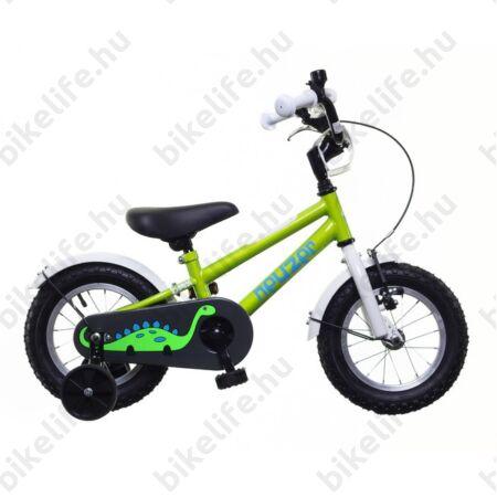 Neuzer 12-es gyerek kerékpár fiú zöld-fehér