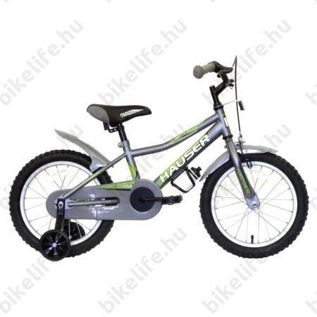 """Hauser Puma 16""""-os gyerekkerékpár, kontrás, matt sötétszürke"""