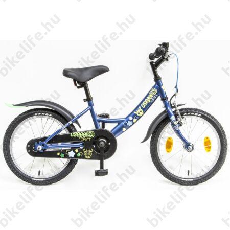 """Csepel Drift 16""""-os fiú gyerek kerékpár kontrafékes szarvasos kék"""