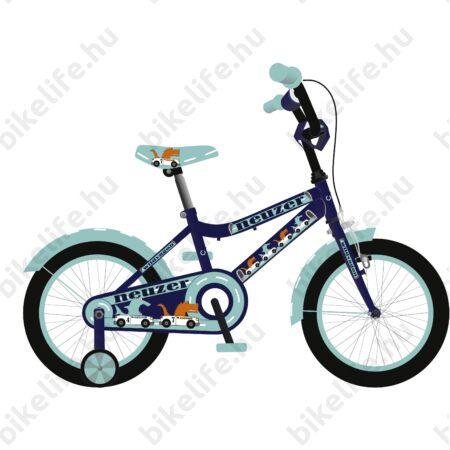 """Neuzer Wildwagon 16""""-os gyerek kerékpár, fiú, királykék"""