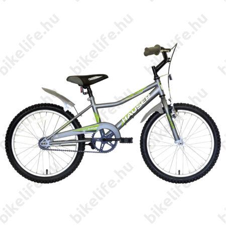 """Hauser Puma 20""""-os gyerekkerékpár, kontrás, matt szürke"""