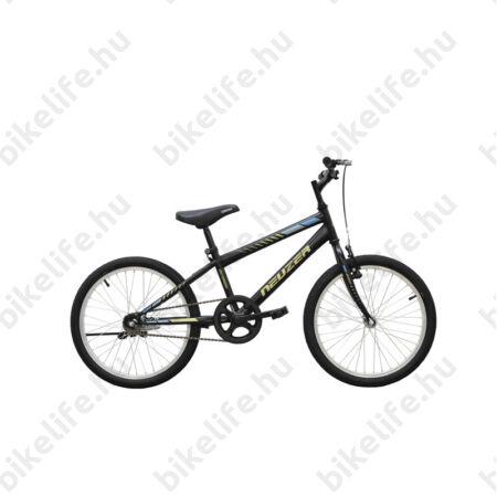 """Neuzer Bobby 20""""-os gyerek kerékpár, fiú, kontrás, fekete/zöld-kék"""