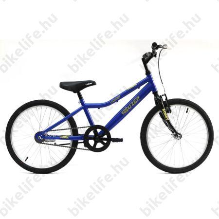 """Neuzer Cindy City 20""""-os gyerekkerékpár, 6 sebességes, lányka, fehér/pink, virágmintás"""