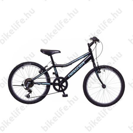 Neuzer Bobby 20-as fiú gyerek kerékpár 6 sebességes Shimano váltóval fekete/celeste