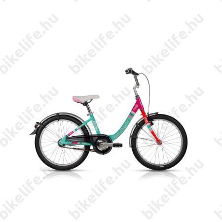 """Kellys Cindy 2019 20""""-os gyerekkerékpár aluminium monováz, City felsz., kontrafék"""