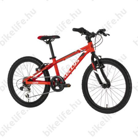 """Kellys Lumi 30 Red 20""""-os gyerekkerékpár aluminium váz, 6 fokozatú Shimano TY21 váltó"""