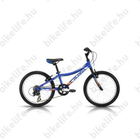 """Alpina Bestar 10 20""""-os gyerekkerékpár acél váz, 6 fokozatú váltó, kék"""
