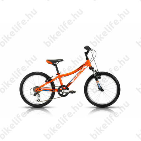 """Alpina Bestar 30 20""""-os gyerekkerékpár acél váz, 6 fokozatú váltó, teleszkópos, piros"""