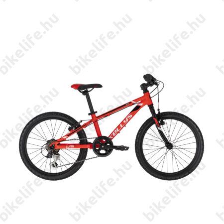 """Kellys Lumi 30 Red 20""""-os gyerekkerékpár aluminium váz, 6 fokozatú Shimano TY21 váltó, V-fék,"""