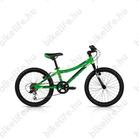 """Kellys Lumi 30 20""""-os gyerekkerékpár aluminium váz, 6 fokozatú Shimano váltó, green"""