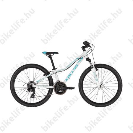 """Kellys Kiter 50 2019 24""""-os gyerekkerékpár 21 fok. Shim. TX35 váltó, alu váz, teleszkóp, Black"""