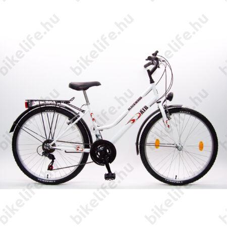 """Csepel Blackwood city 26""""-os MTB kerékpár női  16"""" fehér"""