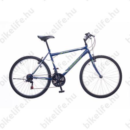 """Neuzer Nelson férfi MTB kerékpár 18sebességes, kék/fehér/zöld 17"""""""