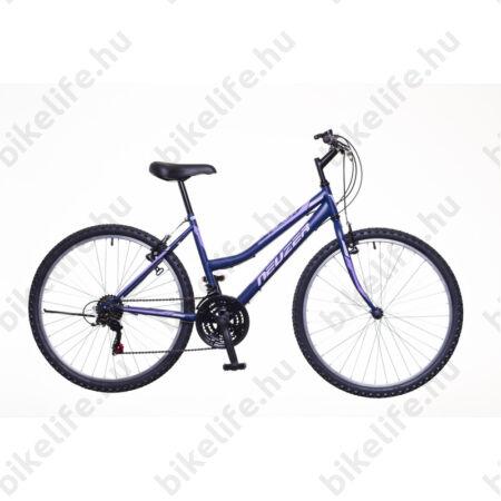 """Neuzer Nelson női MTB kerékpár 18sebességes, matt kék-lila-rózsaszín 19"""""""