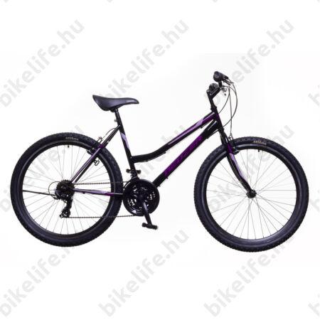"""Neuzer Nelson 30 női MTB kerékpár 18sebességes, duplafalú kerekek, bordó/fehér-szürke 19"""""""