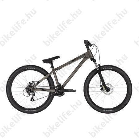 """Kellys Whip 10 Raw Dirt extrém MTB 26"""" kerékpár 7 fokozatú Acera váltó, Mechanikus Disc, M"""