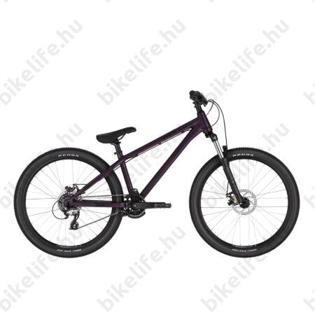 """Kellys Whip 10 Purple Dirt extrém MTB 26"""" kerékpár 1x7 fokozatú Acera Váltó, Mechanikus Disc, L"""