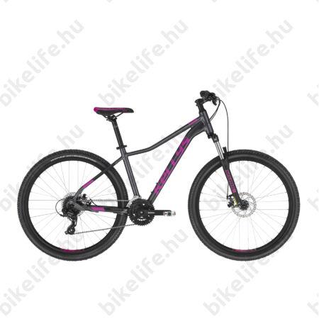 """Kellys Vanity 30 Grey női MTB 26"""" kerékpár 24 fokozat Shimano TX800 váltó, Mechanikus Disc, 15""""/XS"""