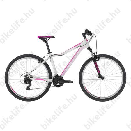 """Kellys Vanity 10 White női MTB 26"""" kerékpár 21 fokozat Shimano TY500 váltó, V-fék, 15""""/XS"""