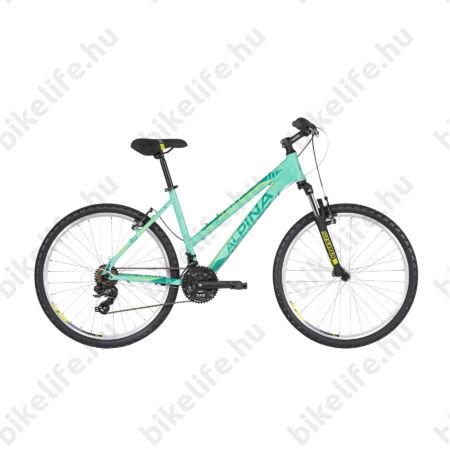 """Alpina Eco LM10 Mint női MTB kerékpár 21 fok. TY300 váltó, alumínum váz, teleszkóp, 16"""""""