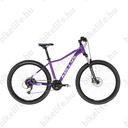 """Kellys Vanity 50 Sky Ultraviola MTB 26"""" kerékpár 24 fok. Shimano Altus váltó, Hidraulikus Disc, 15""""/XS"""
