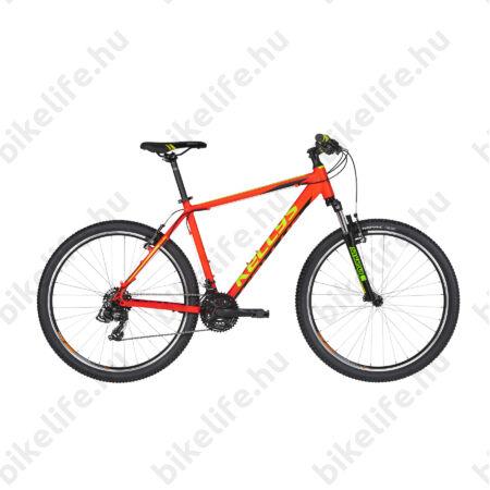 """Kellys Madman 10 Neon Orange MTB 26"""" kerékpár 21 fokozazú Shimano TX800 váltó, 15,5"""""""