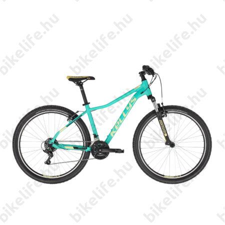 """Kellys Vanity 10 Aqua/Green női MTB 26"""" kerékpár 21 fokozat Shimano TY200 váltó, V-fék, 17""""/S"""