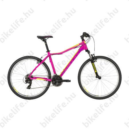 """Kellys Vanity 10 Pink női MTB 26"""" Kerékpár 21 fokozat Shimano TY500 váltó, V-fék, 17""""/S"""
