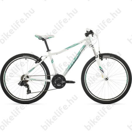 """Rock Machine Catherine 26 női MTB kerékpár 21 sebességes, fehér/menta 16,5"""""""