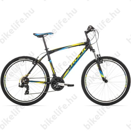 """Rock Machine Manhattan 30 2016 MTB kerékpár 21 seb. Shimano RS35/TX55 váltó, 19"""""""