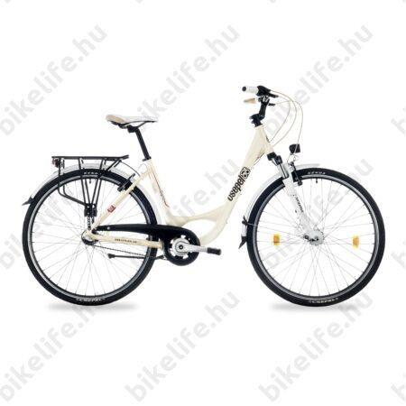 """Csepel Signo 28""""-os városi kerékpár Shimano Nexus 7 fokozatú agyváltó, női, krém 17"""""""
