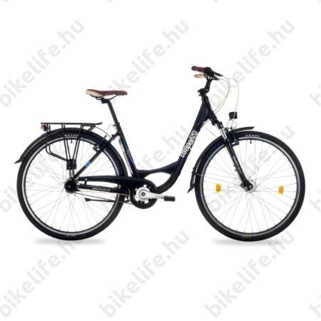 """Csepel Signo 28""""-os városi kerékpár Shimano Nexus 7 fokozatú agyváltó, női, fekete 19"""""""