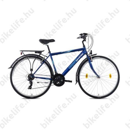"""Csepel Landrider férfi trekking kerékpár Shimano RS/TX váltó, duplafalú abroncs, sötétkék 19"""""""