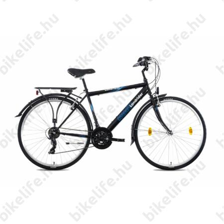 """Csepel Landrider férfi trekking kerékpár Shimano RS/TX váltó, duplafalú abroncs, fekete 23"""""""