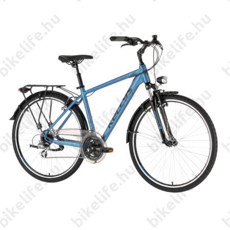 """Kellys Carson 30 Blue férfi trekking kerékpár 24 fokozatú Shimano Altus váltó, V-fék, L/21"""""""