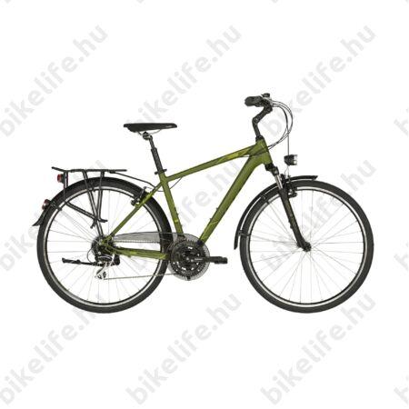 """Kellys Carson 50 Olive férfi trekking kerékpár 24 fokozatú Shimano Acera váltó, V-fék S/17"""""""