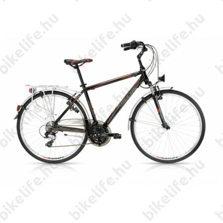 """Kellys Carter 30 2016 férfi trekking kerékpár 21seb. Shimano TX800 váltó, fekete 19"""""""